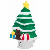 Luz Noche Figura Arbol Navidad Foco E12 4w Voltech 46137