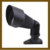 Lámpara Para Intemperie, Dirigible De Aluminio Color Negro