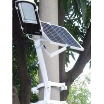 Lampara Led Solar Alumbrado Publico Encendido Automatico Kit
