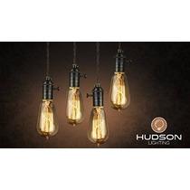 4 Pack - 60 Vatios Vintage Edison Bombilla - Jaula De Ardill