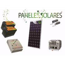 Paneles Solares 250w Kit Completo 24v Inversor 800w Continuo