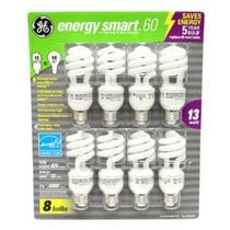 Ge 13-watt Energía Smarttm - Paquete De 8 - 60 Vatios De Ree