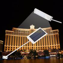 Lampara Led 12w Solar Recargable Encendido Automatico