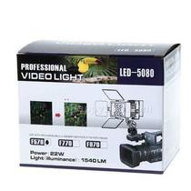 Videolampara De 8 Leds Con Pinacle Ragalado Y Bateria 960