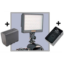 Lampara 140 Leds Yongnuo + Bateria + Cargador Video Foto