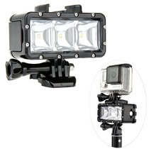 Go Pro Lampara Led Sumergible Flash Light Bateria Hero 4 3+