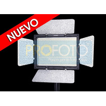 Lampara 600 Leds Yongnuo Alta Potencia Video Pro