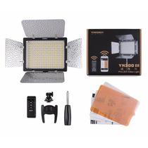 Lámpara Led Yn 300 Iii Con Batería Np-f970 Y Cargador