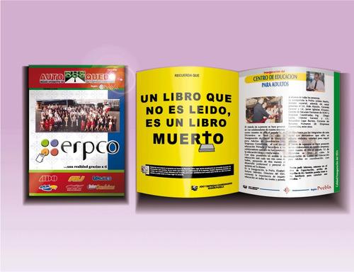 Impresion De Revistas Folletos Cuadernillos Libros Offset