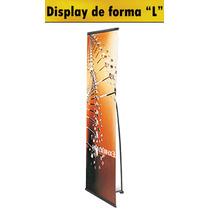 Display Banner Para Imágenes En Forma L Yc-l1-90