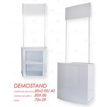 Demo Stand Portatil, De Plastico Resistente $1,999.00