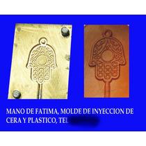 Troquel De Inyeccion De Cera O Plastico, Mano De Fatima