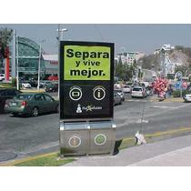 Muppi Con Dos Contenedores De Basura (organica E Inorganica)