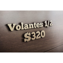 Flyers/ Volantes 1/2 Carta Color $320 Millar, Reverso Bn