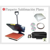Paquete Sublimación Plana, Transfer, Pedreria, Vinil Textil