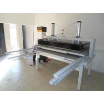 Sublimadora Industrial Aj6000 2 Charolas1.22mts X 1.70 Mts