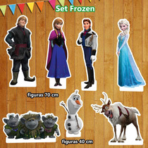 Figuras Coroplast Frozen