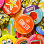 Pack 100 Foto Botones Pins Personalizados 5.7cm Alta Calidad