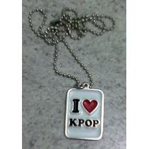 Collar K-pop Metalico, Personalizado, Coll-met Yokadi