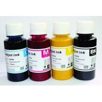 Tinta Sublimacion 4 Botes 60ml Sublimar Sublimado