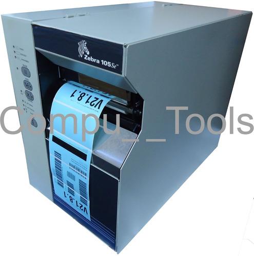 Impresora De Etiquetas C 243 Digo De Barras Zebra 105se