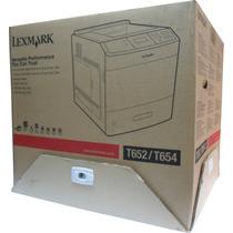 Impresora Laser Lexmark T652dn 30g0200 Duplex 50ppm Red T652