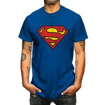 King Monster Caballero Mod:logo Superman Azul En Vandalosk8.