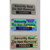 Hologramas De Seguridad Personalizados