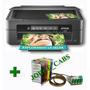 Impresora Xp211 Con Sistema Continuo Y Tinta De Sublimación