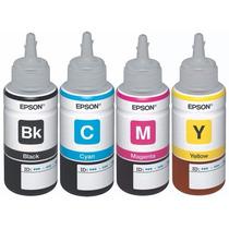 Kit Tinta Original Epson, L110 L210 L350 L355, A Msi Envío