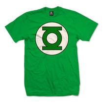 Playera Dc Comics, Mod: Linterna Verde Logo, En Vandalos