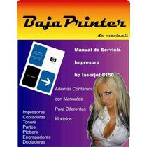 Hp Laserjet 8150 Manual De Servicio