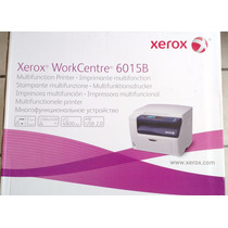 Impresora Multifunción A Color Workcentre 6015-b Xerox
