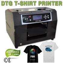 Impresora Playeras Dtg 21x30 A4 Para Textil O Para Rigidos