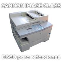 Multifuncional Copiadora Impresora Canon Para Piezas D660