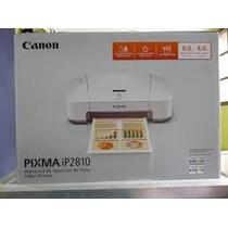 Impresora Cannon Pixma Ip2810