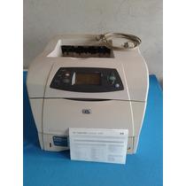 Impresora Hp Lj 4250n Servicio Completo Con Cable Y Toner