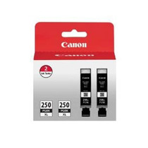 Canon Pgi-250xl Negro Doble Value Pack