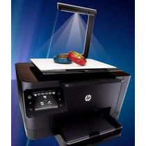 Hp Topshot Laserjet Pro M275 + 4 Cartuchos De Tinta