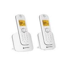 Teléfono Digital Slim Con Extensión Motorola D1001w-2