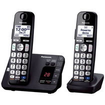Telefono Inalambrico Panasonic Doble Dect 6.0 Tge232