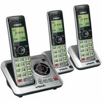 Kit 3 Telefonos Vtech Inalambricos Csr6629 Contestadora