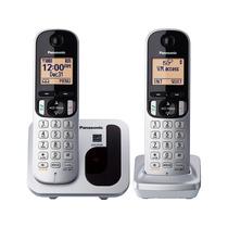 Kit 2 Telefonos Panasonic C212 Identificador De Llamadas Msi