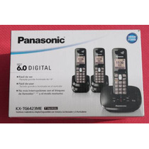 Sp0 Panasonic Kx-tg6423me Teléfono Dect 6.0 Depósito Bancari