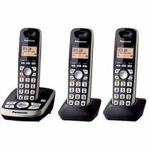Telefonos Inalambricos Panasonic Tg4223b 3 Hand Sets