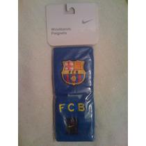 Muñequeras Del Futbol Club Barcelona Marca Nike
