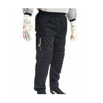 Portería Pantalones - Negro Acolchado De Fútbol De Portero