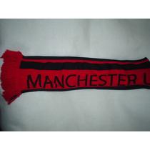 Bufanda De Manchester United Original Nueva Rival De Chelsea