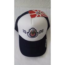 Gorra Oficial De Las Chivas De Guadalajara Escudo 1906