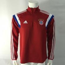Sudadera Bayern München Con Cierre En Color Rojo Adidas